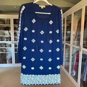 Michael Kors boho embroidered dress